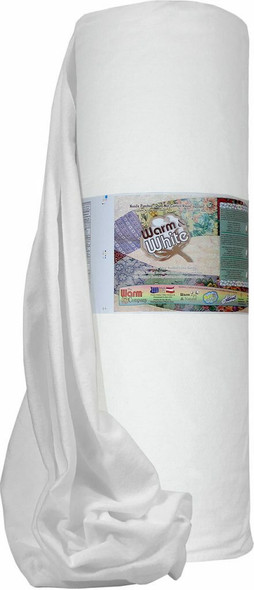 Warm & White Quilt Batting 45 inch wide cotton