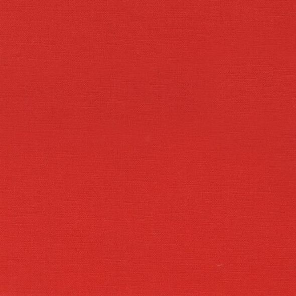 Ruby Red Essex Linen fabrics design