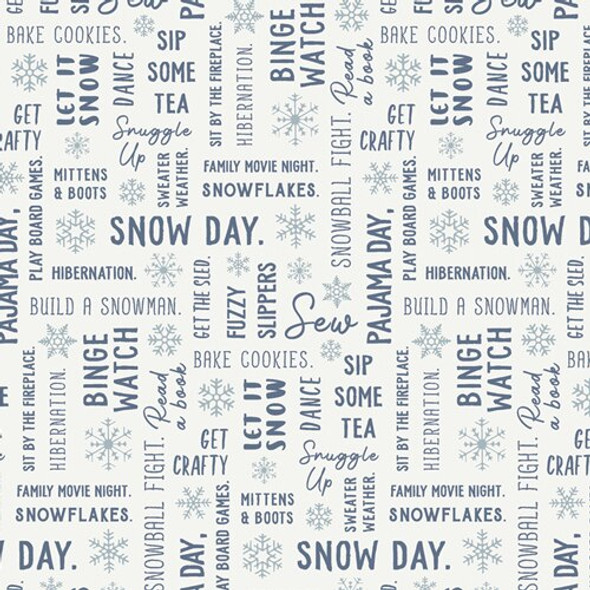 Snowbound Winter Fun fabrics design