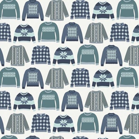 Winter Sweaters Art Gallery Fabrics design