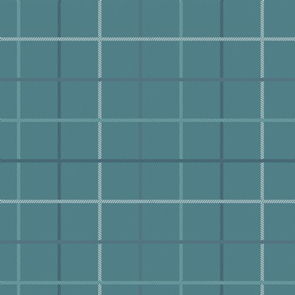 Blue Plaid cotton fabrics design