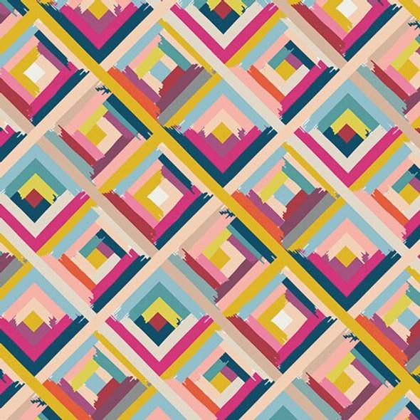 Roadside Guides Aster fabrics design
