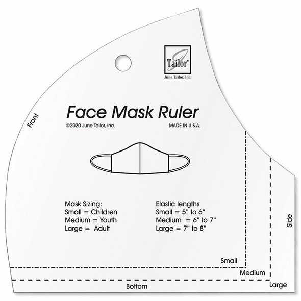 Face Mask template June Tailor