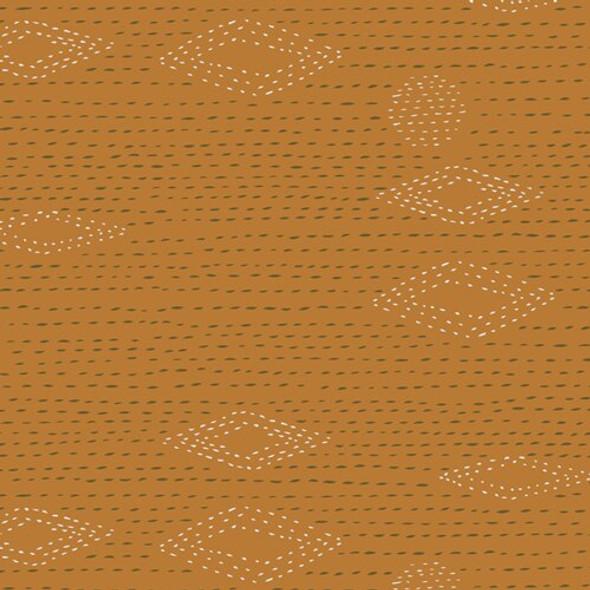 Rust mustard low volume fabrics design