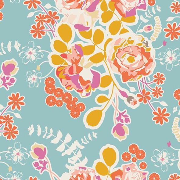 Orchard Blossom Spring cotton fabrics design