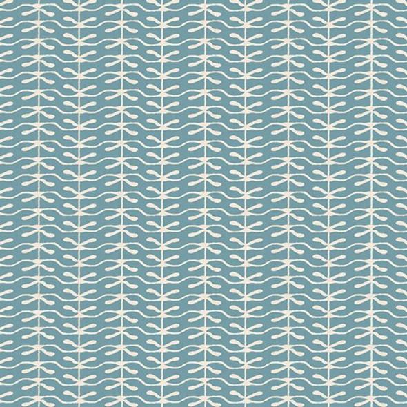 Light blue fabric - Lambkin Winter Sprout fabrics design