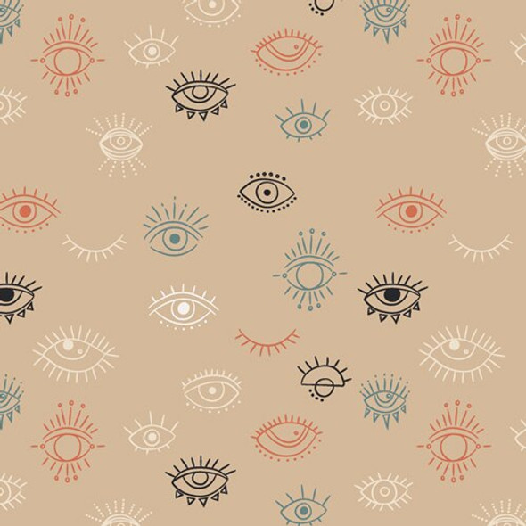 Eye See You Day cotton fabrics design