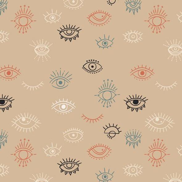 Eye See You Day cotton fabrics design