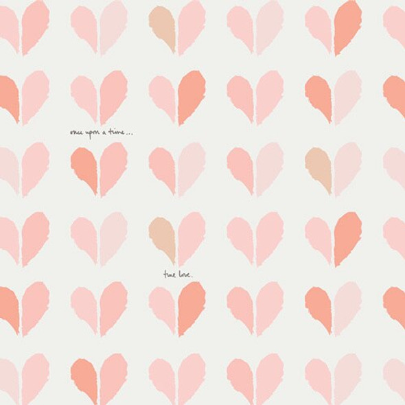 True Love Hearts fabrics design