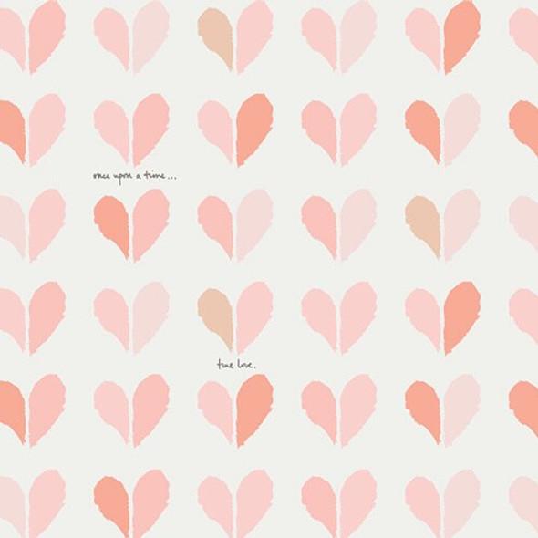 True Love Hearts fabrics design
