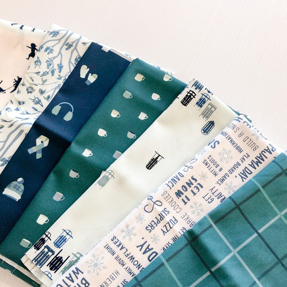 Snow Day Bundle quilt Fabrics design