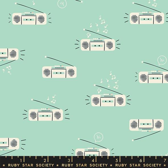 Frost Retro Boombox cotton fabrics design