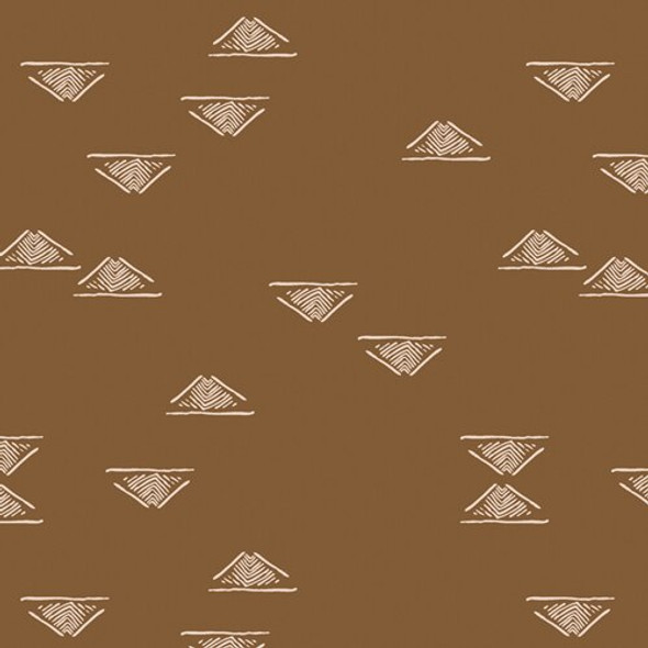 Brown low volume fabrics design