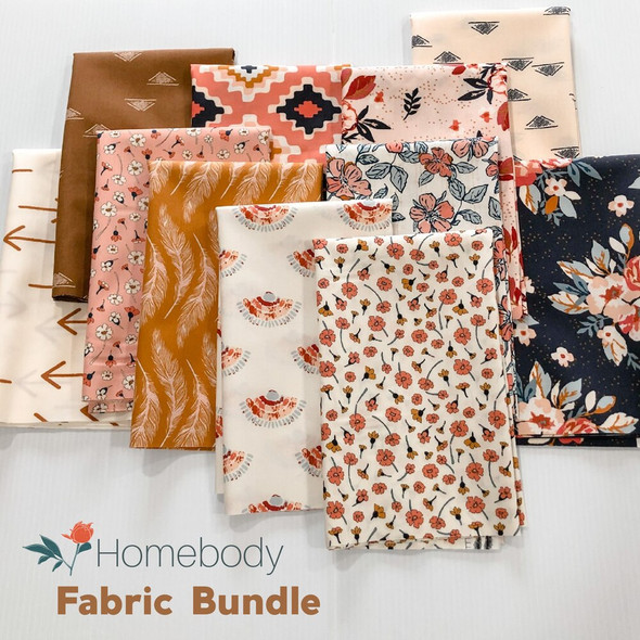 Homebody 11-piece Fabric Bundle quilt cotton fabrics design