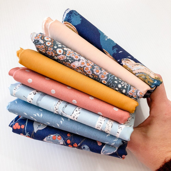 Earthen 8-piece Fabric Bundle fabrics design