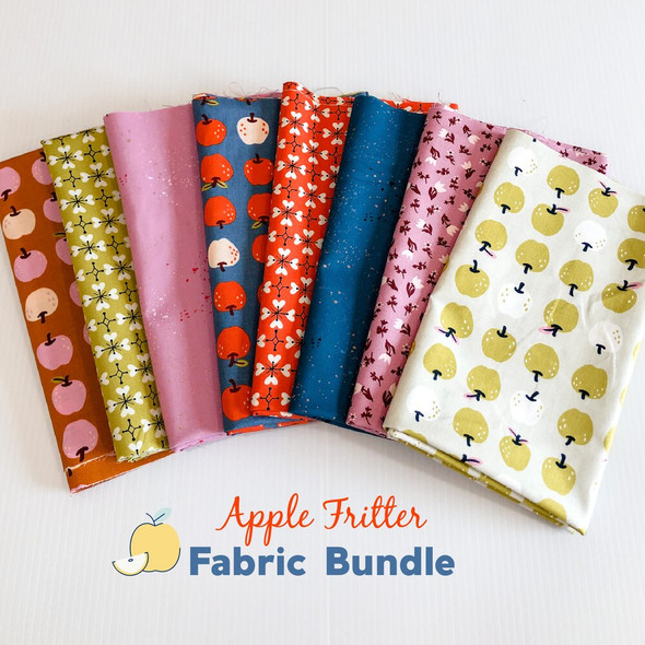 Apple Fritter Smol 8-piece Fabric Bundle quilt fabrics design