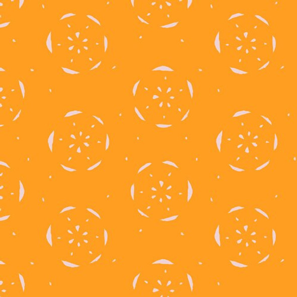 Citrus Orange fruit fabrics design