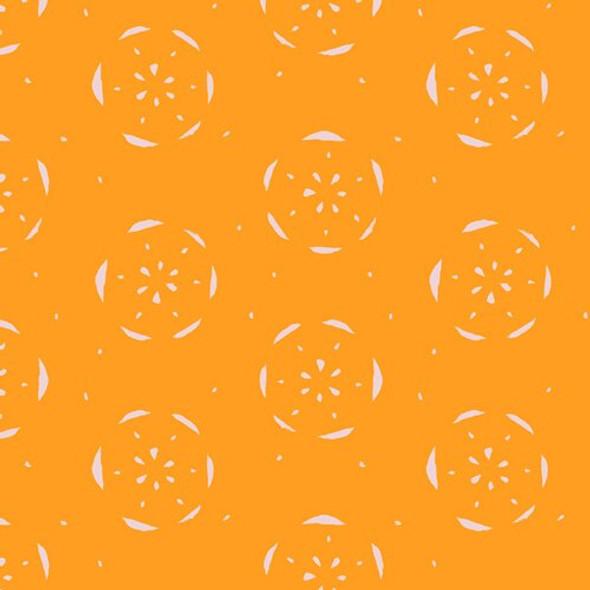 Citrus Orange fruit fabrics design