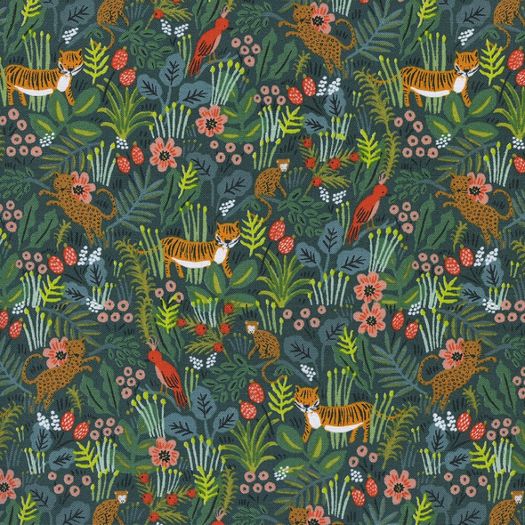 Hunter Rainforest jungle fabrics design