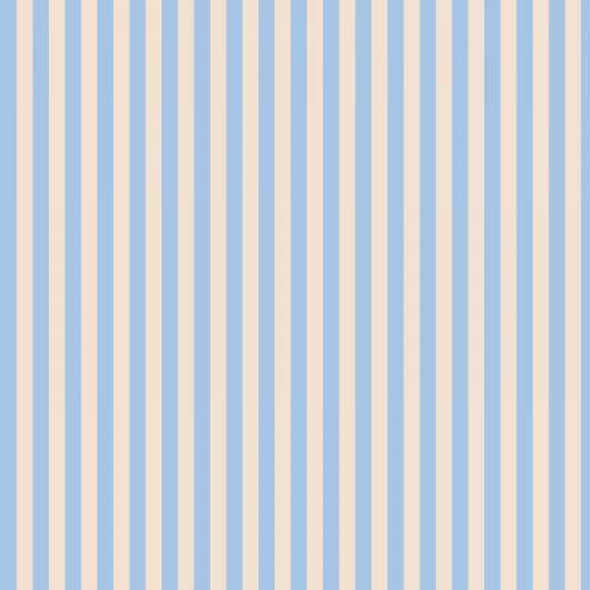 Blue Cabana Stripe cotton fabrics design