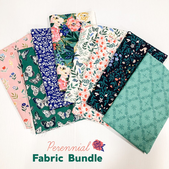 Bundle quilt organic cotton fabrics design