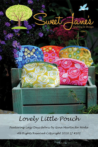 Lovely Little Pouch sewing pattern