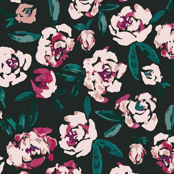 Fields of Foresta floral fabrics design