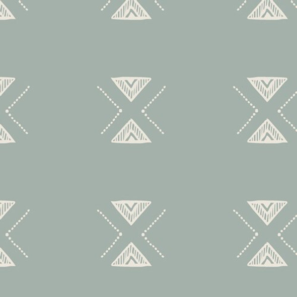 Triangular Serenity Low Volume fabrics design