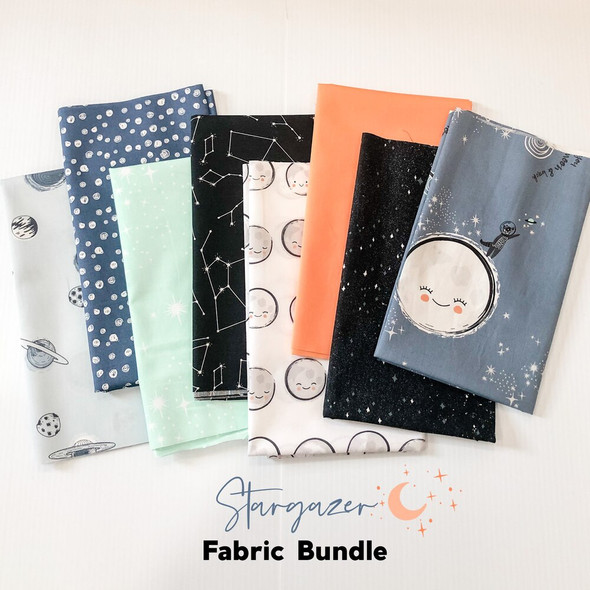Stargazer 8-piece Fabric Bundle quilt cotton