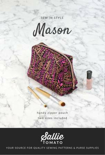 Mason Pouch sewing pattern
