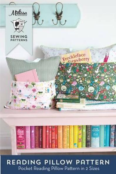 Reading Pocket Pillow sewing pattern