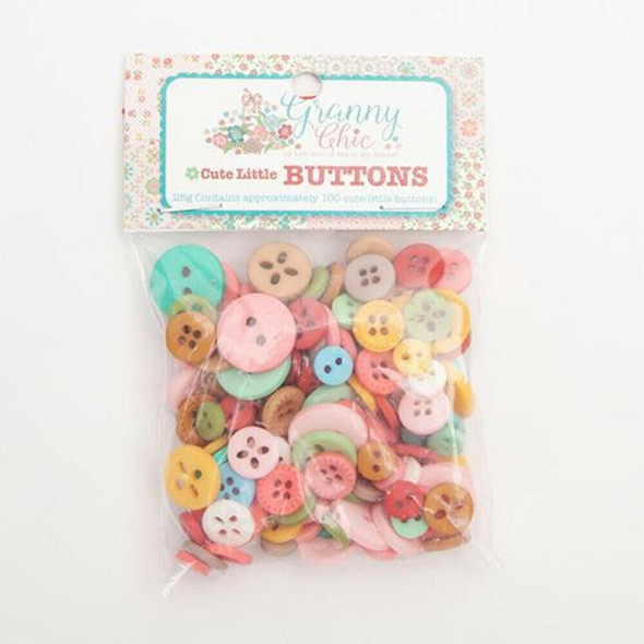 Granny Chic Cute Lori Holt buttons