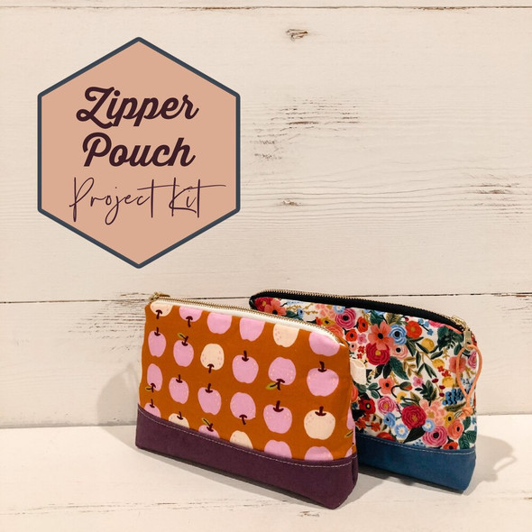 Zipper Pouch Project Box Kit
