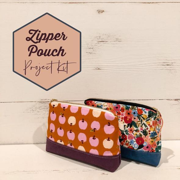 Zipper Pouch Project Box Kit