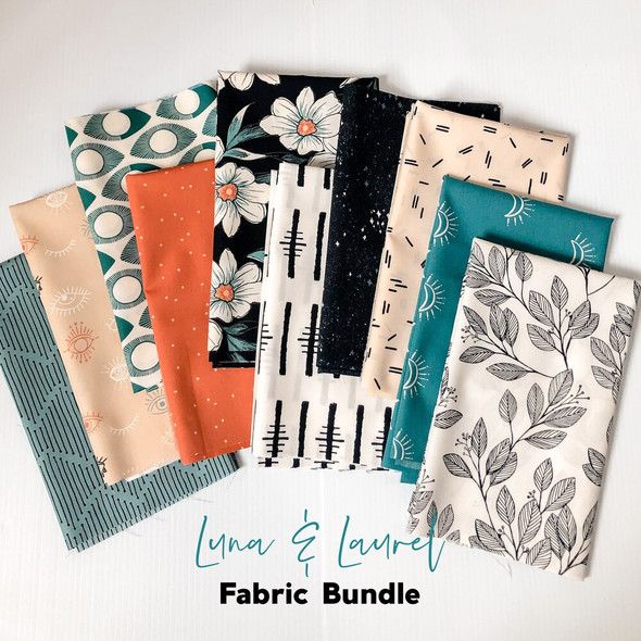 Luna & Laurel 10 piece Fabric Bundle quilt cotton