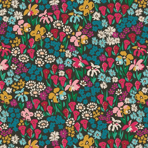 Bright Meadow Floral cottonfabrics design