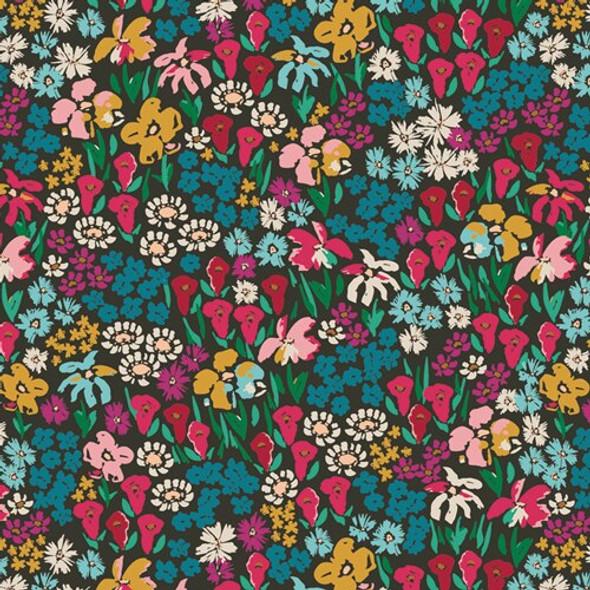 Bright Meadow Floral cottonfabrics design
