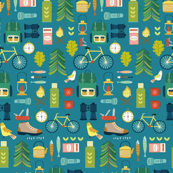 Outdoor Adventure fabric