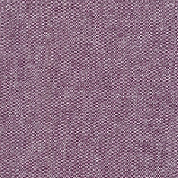 Purple eggplant linen fabric yarn dyed Essex Robert Kaufman