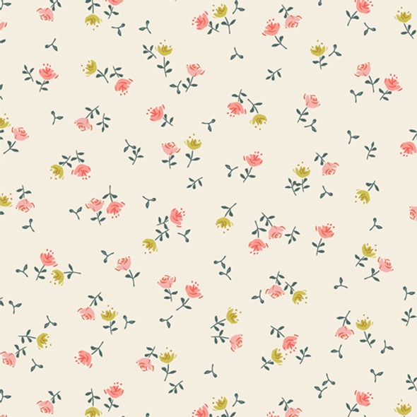 Tiny Vintage floral Olivia Dulcet AGF small floral cotton