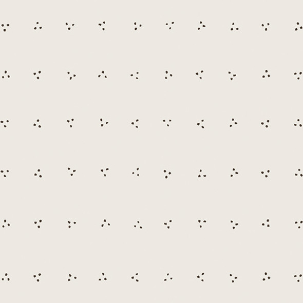 Black white dot low volume cotton AGF Ink Light quilt cotton