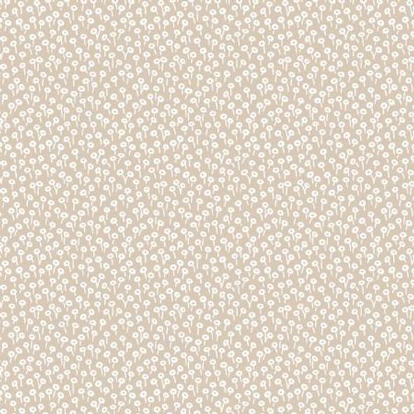 Linen neutral tapestry dot cotton fabric - Basics Rifle Paper Co quilt cotton