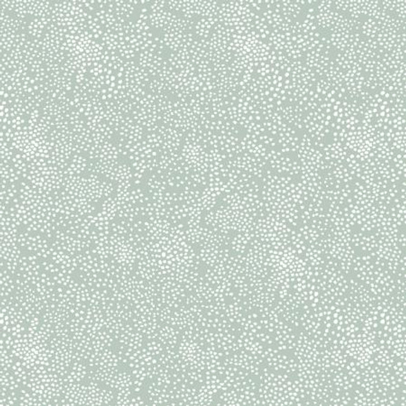 Mint low volume fabric Basics Rifle Paper Co. quilting cotton
