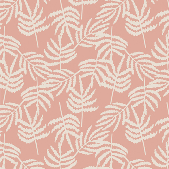 Light Orange Fergully forest fabric quilt cotton by Art Gallery QTR YD