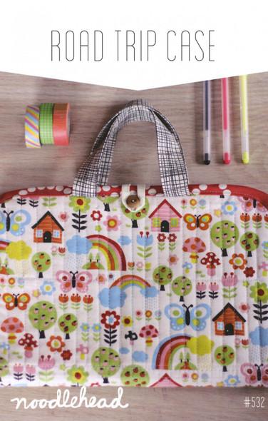 Road Trip Case sewing pattern Travel case pattern - Noodlehead paper pattern