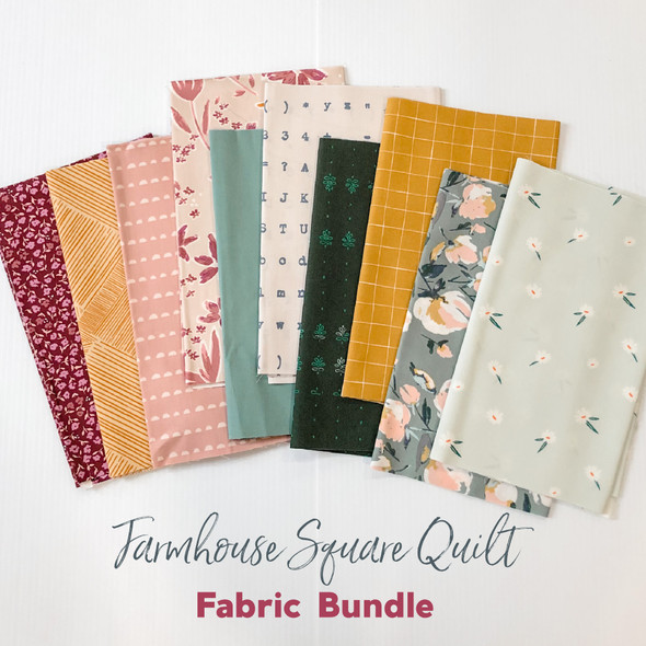 Farmhouse Square Quilt fabric bundle Art Gallery Fabrics quilt cotton bundle