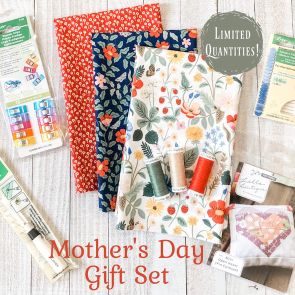 Mother's Day Fabric Supplies Gift Set - fabric notions gift bundle