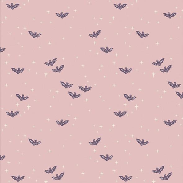 Light purple bats fabric - Winging it Bright - Spooky n Sweeter cotton