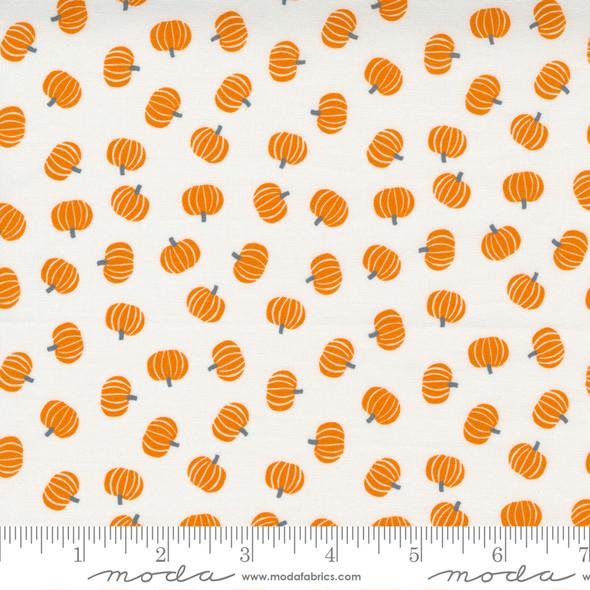 Orange Pumpkin fabric - Moda Holiday Halloween fabric quilt cotton