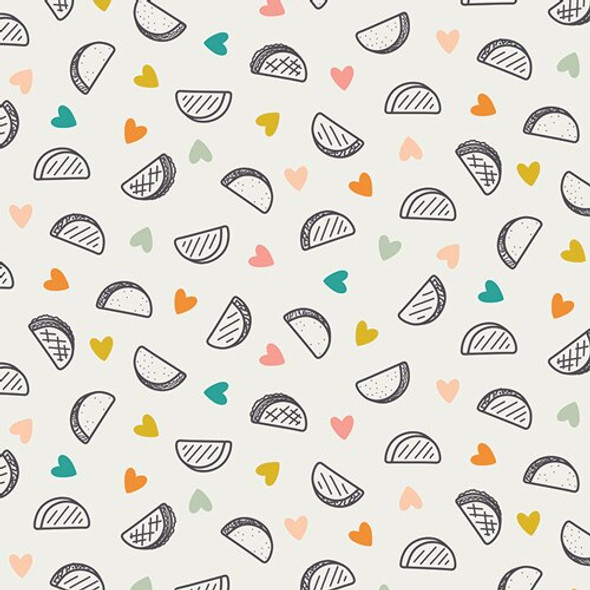 Taco Love cotton fabrics design